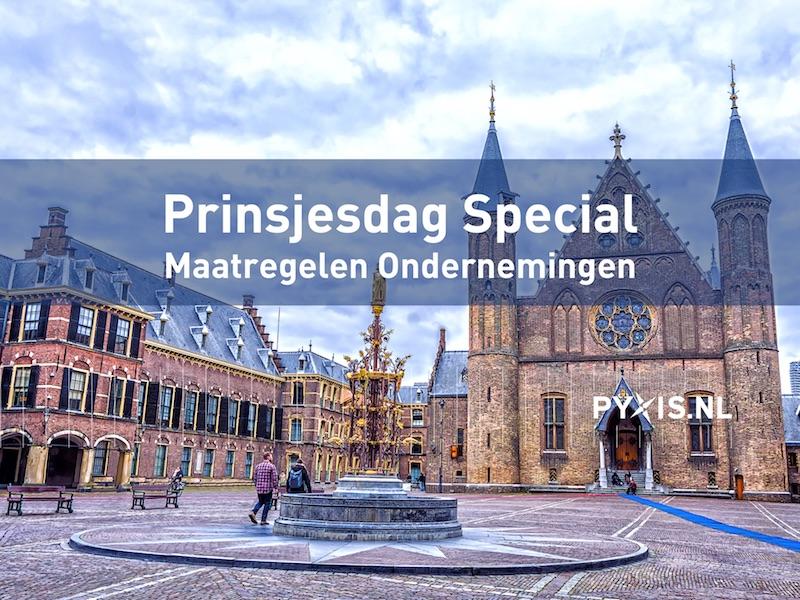 Prinsjesdag Special Maatregelen Ondernemingen
