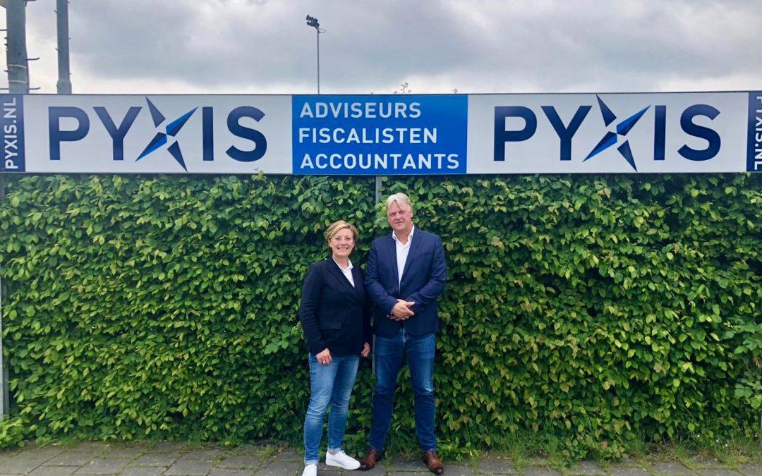 PYXIS sponsor SDO seizoen 2019/2020