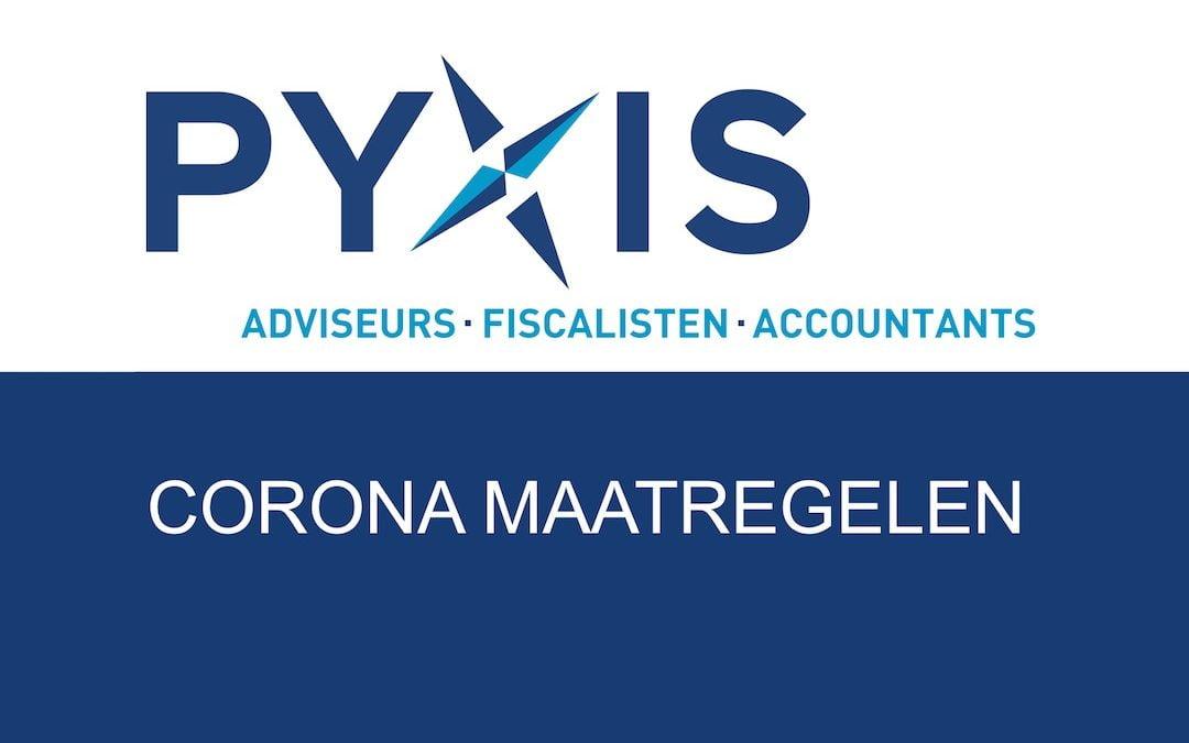 Corona Maatregelen PYXIS